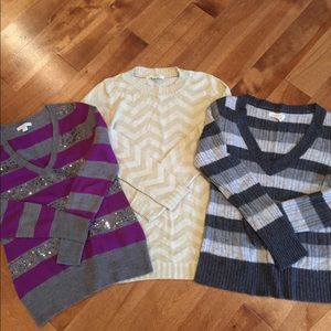 Sweaters. All in good condition